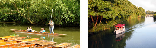 Visit Oxford punting and river tours